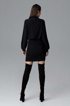 FIGL - Sukienka635 Czarny