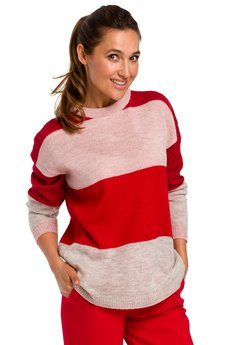 Style - Sweter w pasy S200