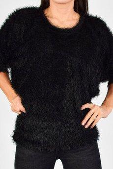 collibri - bluzka nietoperz sweter włochacz