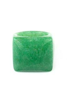 Brazi Druse Jewelry - InspiRING Kwarc Zielony