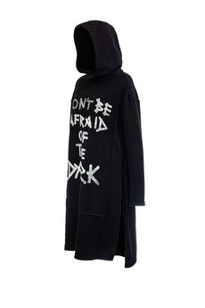 PIKIEL - Fukuko bluza tunika z kapturem