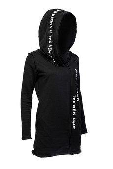 PIKIEL - Nure-onna dopasowana bluza tunika z kapturem