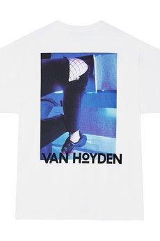Van Hoyden - T-shirt Oversize Legs White