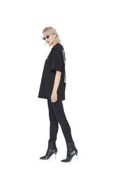 Van Hoyden - T-shirt Oversize Legs Black