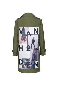 Van Hoyden - Płaszcz wojskowy Vintage model  001