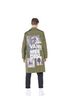 Van Hoyden - Płaszcz wojskowy Vintage model  004