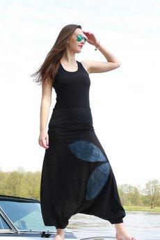 Ququ   Design - Z liścmi-spodnie