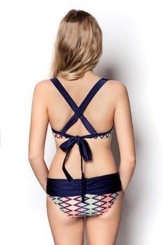 OrienteGlamour - Dwuczęściowy strój kąpielowy ALANI we wzory