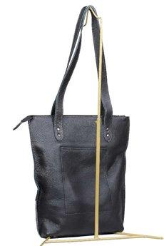Słoń Torbalski - Duża torba skórzana Shopper 00-40-0115-E10-20129
