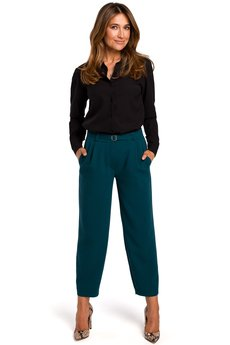 Style - Spodnie z poszerzonymi nogawkami S187