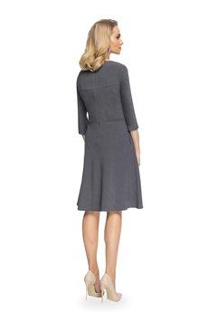 Style - Sukienka z geometrycznymi cięciami S081