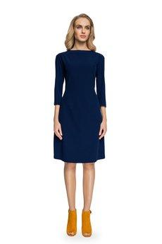 Style - Sukienka z rękawami z bufką S082
