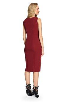Style - Taliowana sukienka bez rękawów S092