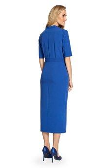 Style - Sukienka midi z rozcięciem z przodu S093