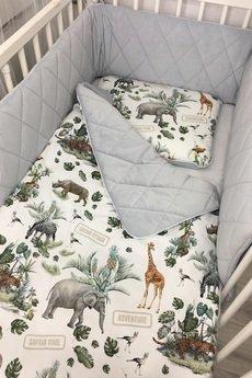 UtuLeni - Zestaw kocyk i poduszka Velvet dla niemowlaka