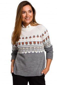 Style - Sweter ze wzorem S199