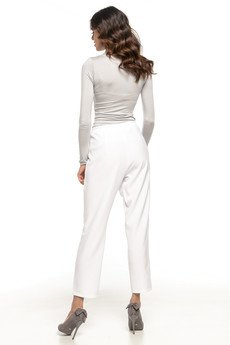 Tessita - Spodnie cygaretki z kieszeniami T271