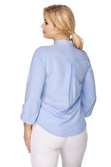 Bird - bluzka o koszulowym kroju z fontaziem