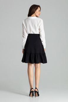 LENITIF - Spódnica L057 Czarny
