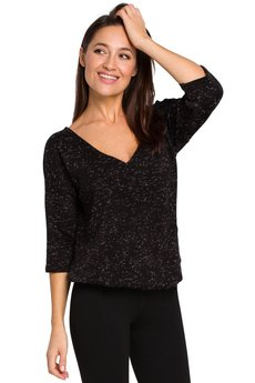 Style - Sweterek z gumką na dole S150