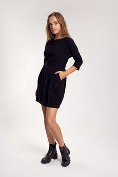 OrienteGlamour - Klasyczna sukienka AUDREY w kolorze czarnym