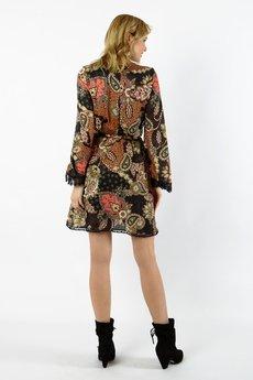 MYOKO - wiskozowa sukienka orientalna