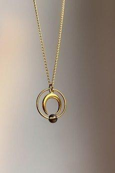 Iluzja Jewellery - Naszyjnik księżyc Eclipse