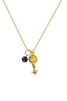 Iluzja Jewellery - Naszyjnik z łańcuszka kulkowego Madame Wizard