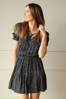 BLACKBOW - Sukienka Erin Dots