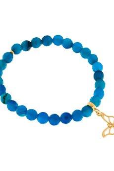 Mogusto  - Bransoletka z Agatu Royal Blue