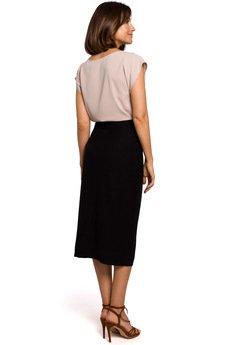 Style - Spódnica ołówkowa zapinana na guziki S207