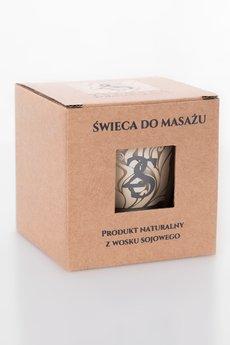2 senses by Marta Rynkiewicz - Świeca do masażu 2 senses Sandalwoods & tobacco