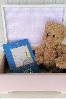 manufaktura - Pudełko skarbów XL dla dziewczynki - Króliczek