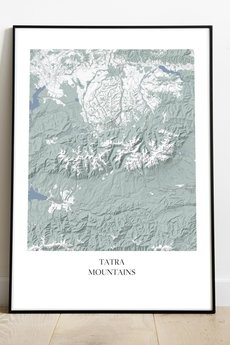 maps by P - Tatry