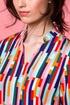 Sukienka kolorowe prostokaty