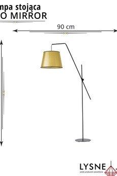LYSNE - Oświetlenie podłogowe do sypialni VIGO MIRROR