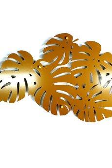 decolicious.pl - MONSTERA liście, złota piękna dekoracja