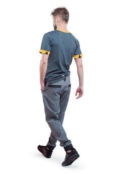 OKUAKU - Pegasus Jogger Jeans Pants ( Grey )