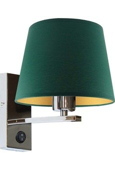 LYSNE - Nowoczesna lampa ścienna LIMA GOLD stelaż chrom