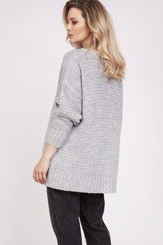 MKM swetry - Lekki, obszerny sweter, SWE220 MKM