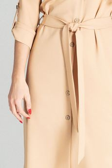 FIGL - Sukienka M701 Beż