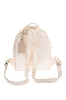 GAWOR - Beżowy mini plecak