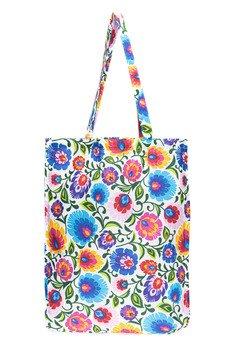 GAWOR - Bawełniana torba na ramię, na zakupy, do pracy