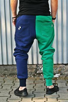 Button - DUAL PANTS WITHOUT ZIPPER - spodnie długie dresowe