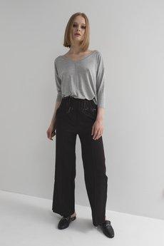 MeMola - Spodnie jeansowe z szerokimi nogawkami VICTORIA