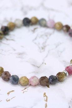 Brazi Druse Jewelry - Bransoletka Szafir i Rubin srebro