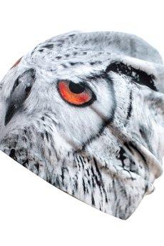 HAUER - Czapka hauer KET MAGIC WHITE OWL