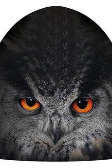 HAUER - Czapka hauer KET MAGIC OWL BLACK