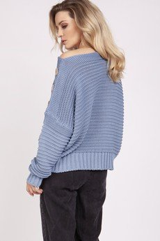 MKM swetry - Luźny sweter - SWE223 jeans MKM