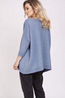 MKM swetry - Dzianinowa bluza - SWE221 jeans MKM